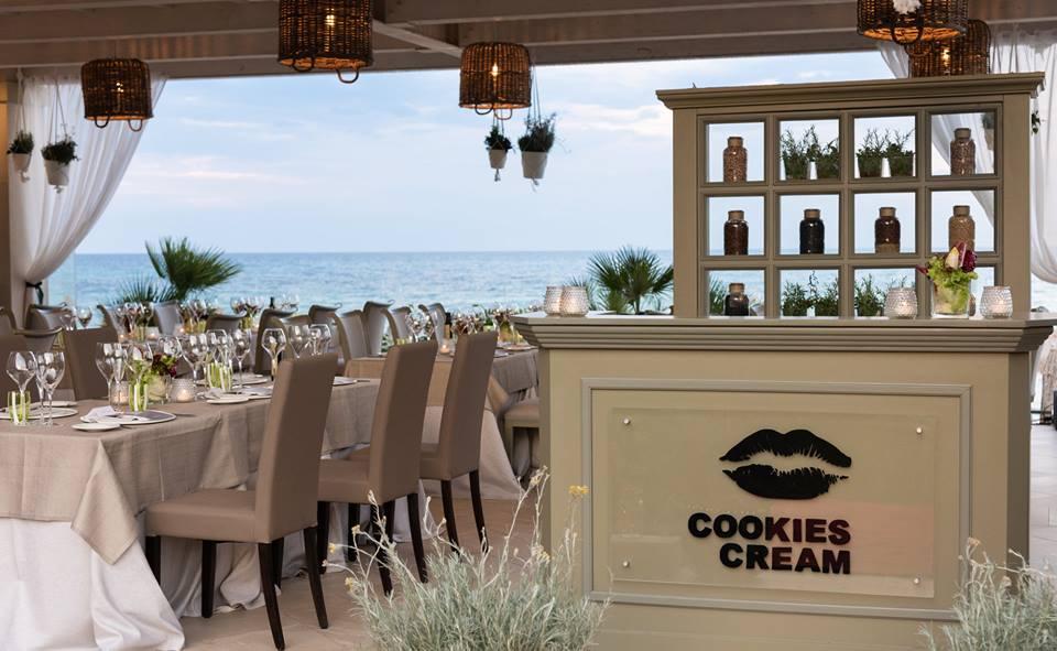 coockie cream ristorante stellato vegetariano forte village