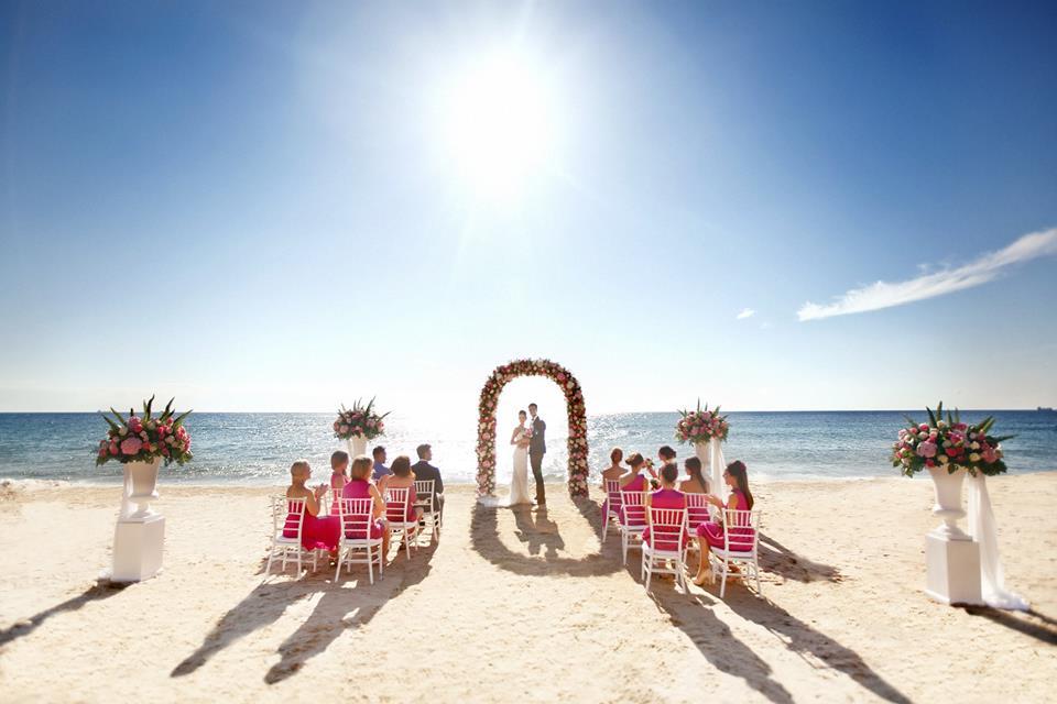 matrimonio in spiaggia forte village