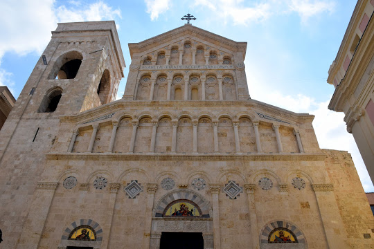 The cathedral of Santa Maria Assunta in Sardinia