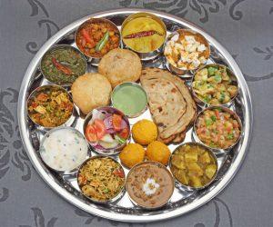 Vivek Singh thali