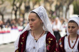 Sant'Efisio festa di Cagliari costumi
