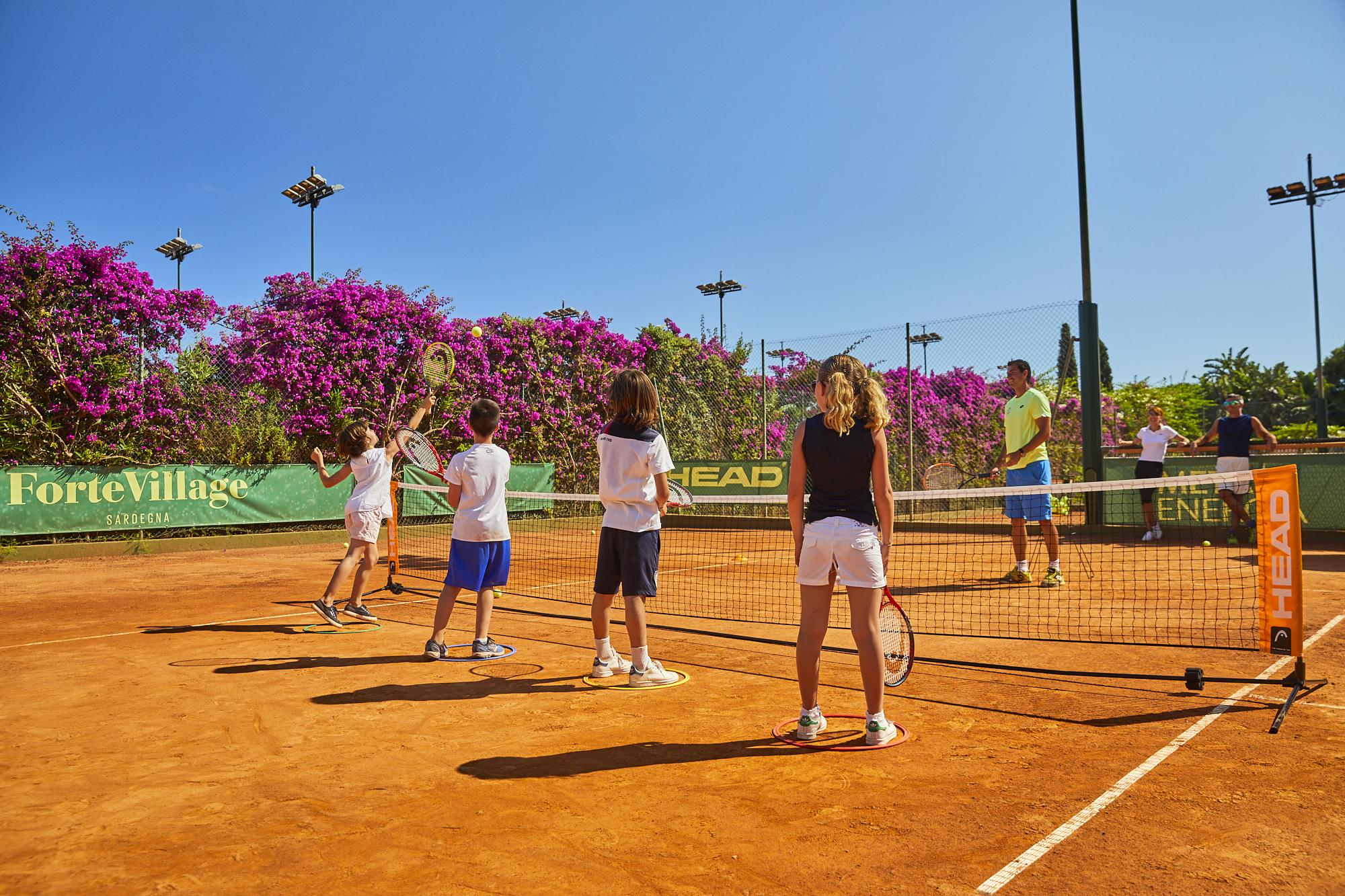 tennis academy forte village resort